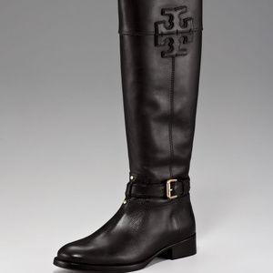 Tory Burch NIB Black Blaire Riding Boots